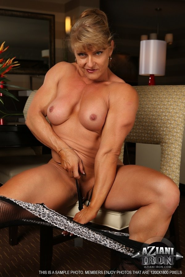 Female bodybuilder best porn pics
