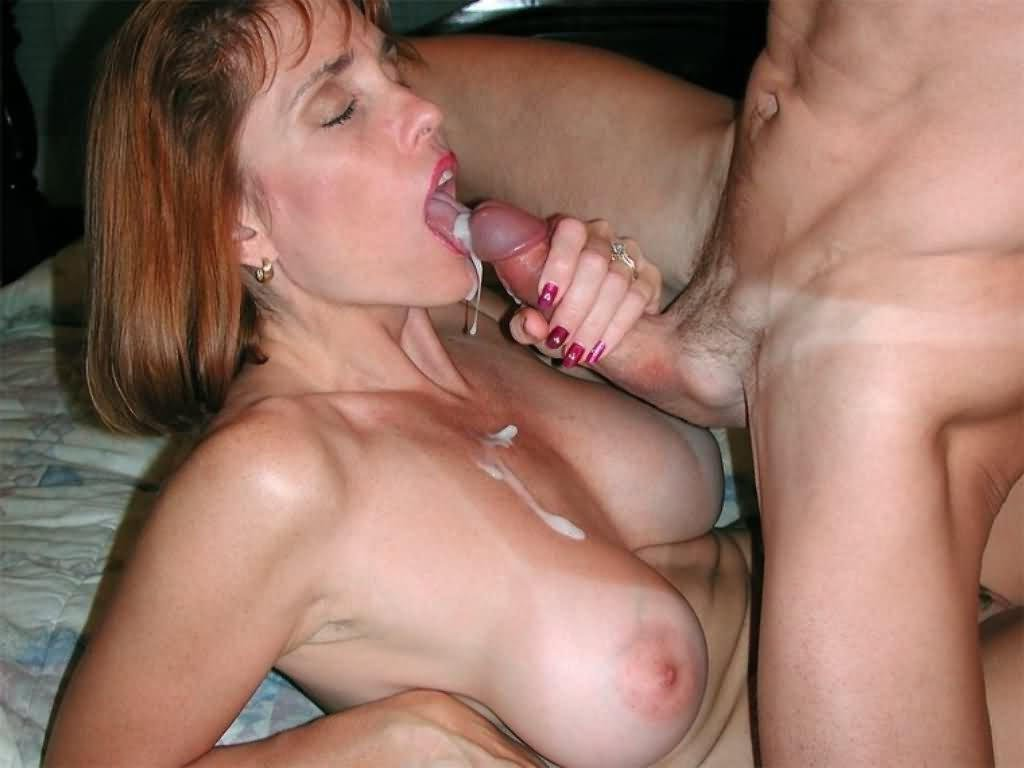 Mature Wife Oral Creampie Gif