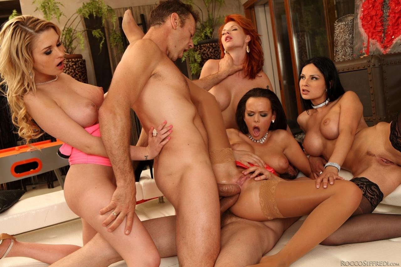 Amazing Group Sex Party Hot Photo