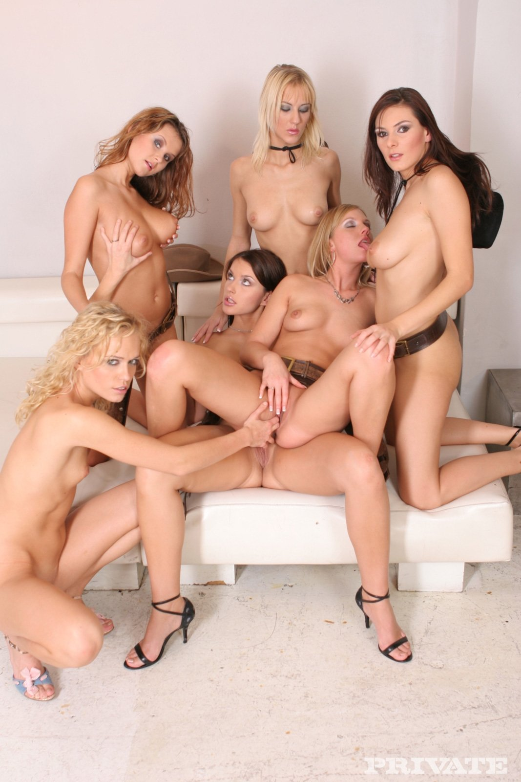 Candace Von And Crystal Clear All Girl Orgy Free Porn Images