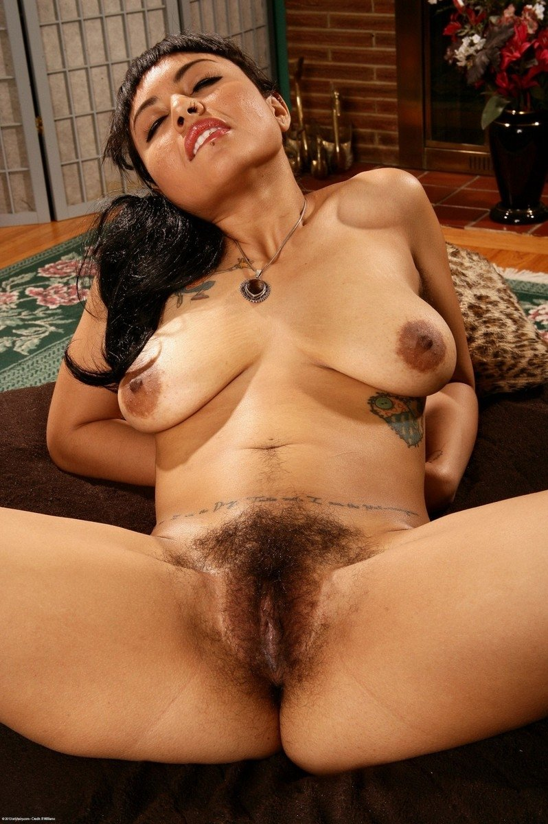 Mexican Teen Girl Hairy Pussy