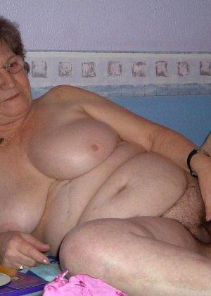 Подборка откровенных фотоснимков от сексуальных бабушек, которые любят ажурное нижнее белье