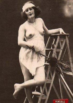 Подборка очень старых фотографий раскрепощенных женщин