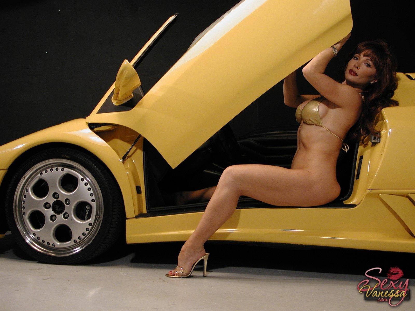 Girl Car Images, Stock Photos Vectors
