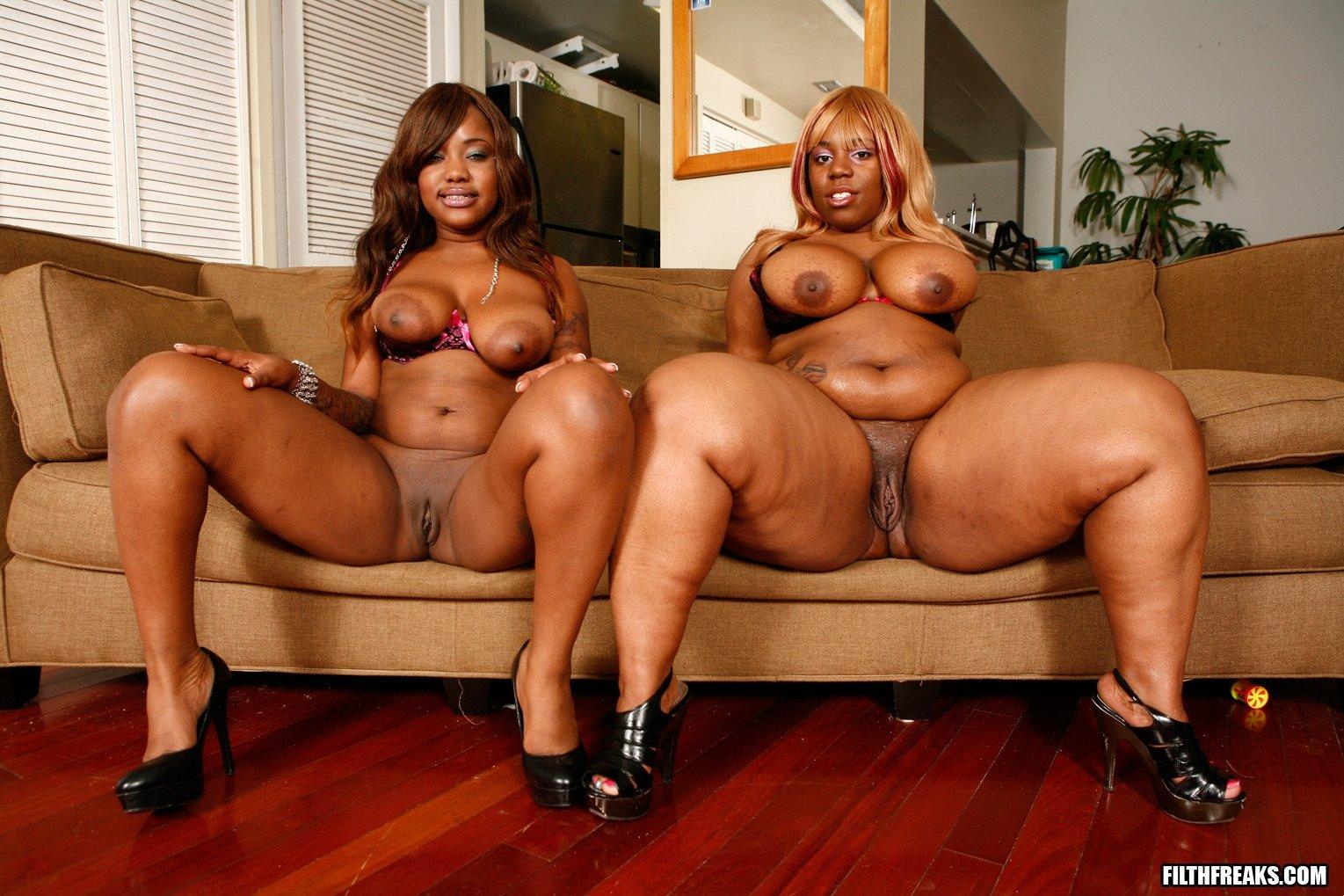 Black fat lesbian