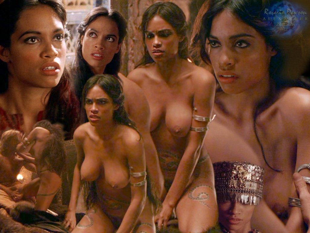 Rosario dawson nude compilation