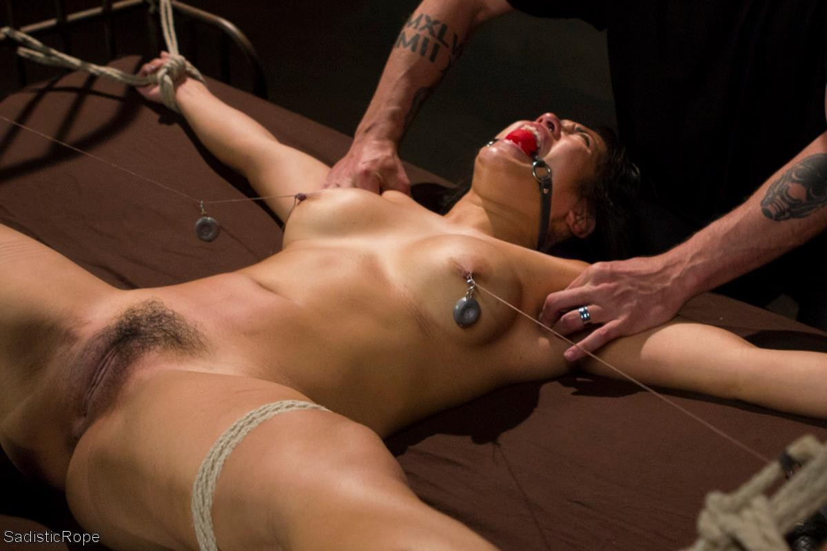 Squirting Bound Babe Fingered By Lucky Guy Tnaflix Porn Pics