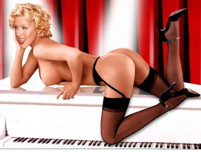 Christina aguilera nudes