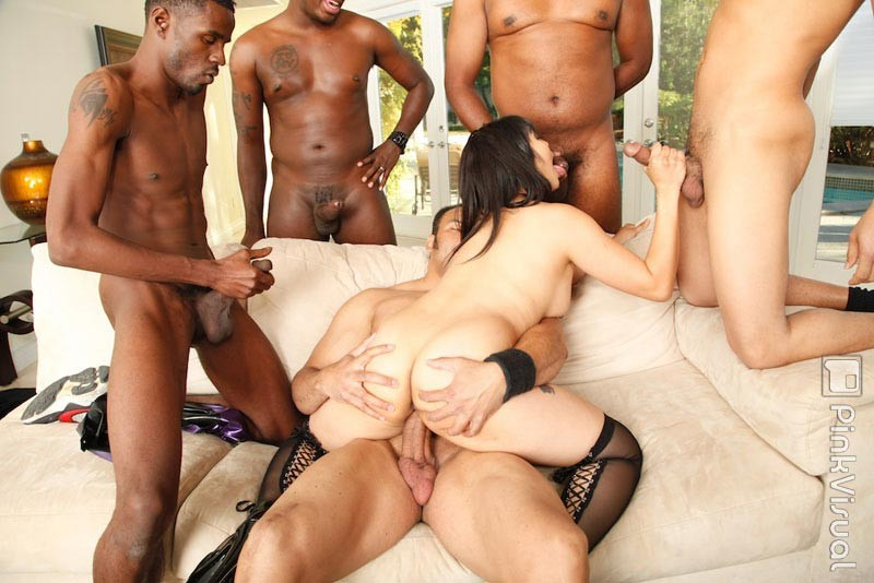 Ebony gangbang porn pics