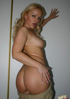 Блондинка оказалась шлюшкой негра