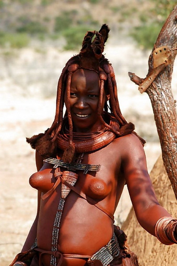 Nude African Tribal Women Showing Pussy