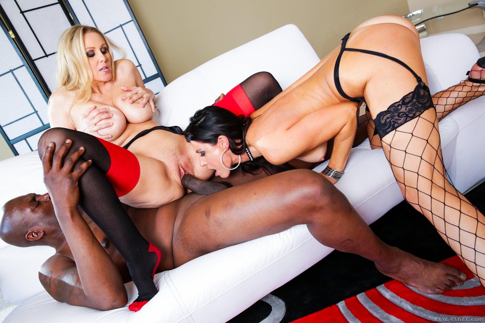 Girl Black Stockings Get Fuck