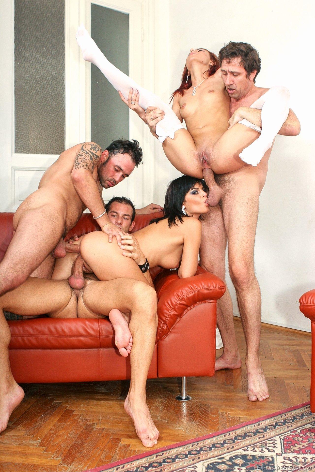 Hot Milf Group Sex