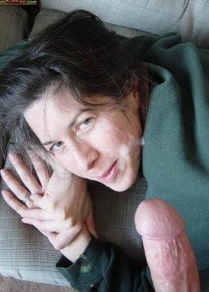 Жены любят сперму мужей