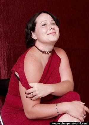 Стриптиз жирненькой женщины
