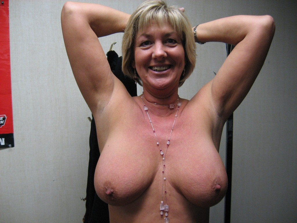 Older mature boobs