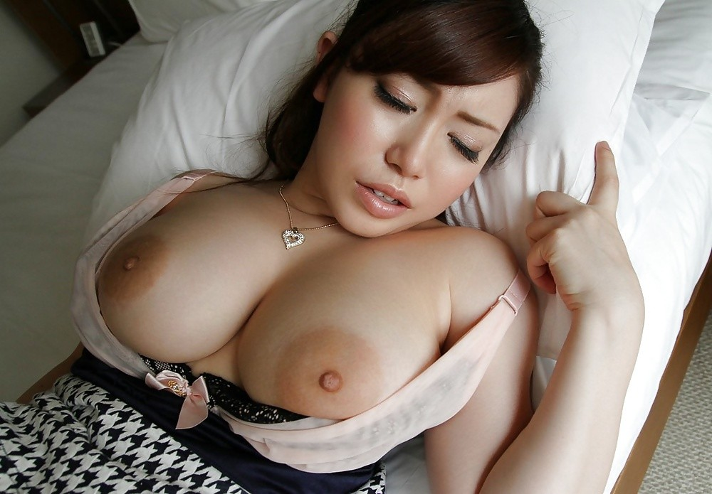 Big tits asian bouncing