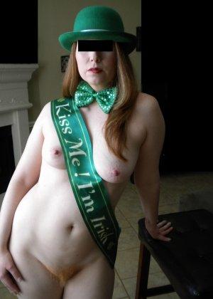 Ирландка с рыжей пиздой