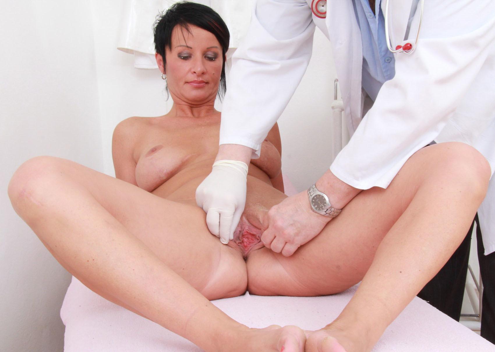 Кончила на приеме у гинеколога видео
