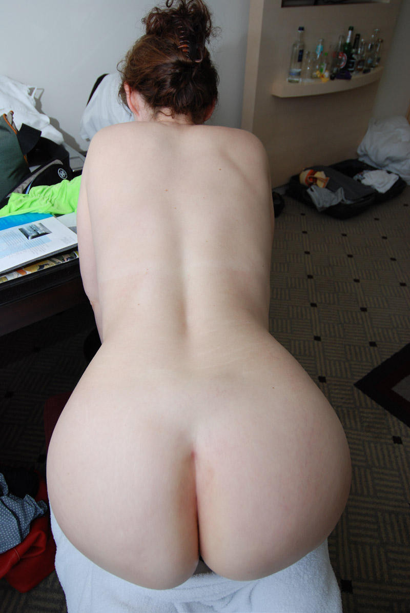 Amateur big booty white girl