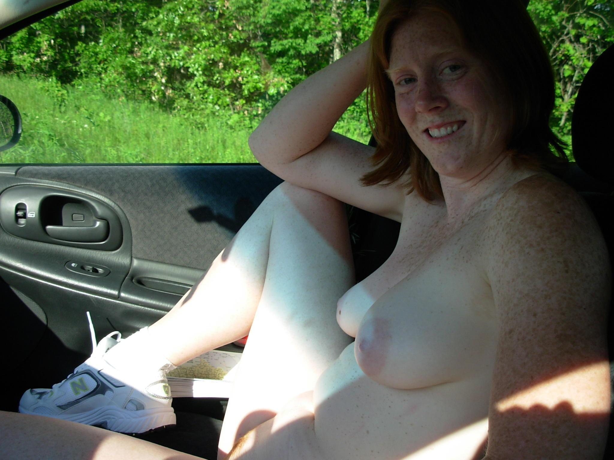Daring Public Flashing Nudity