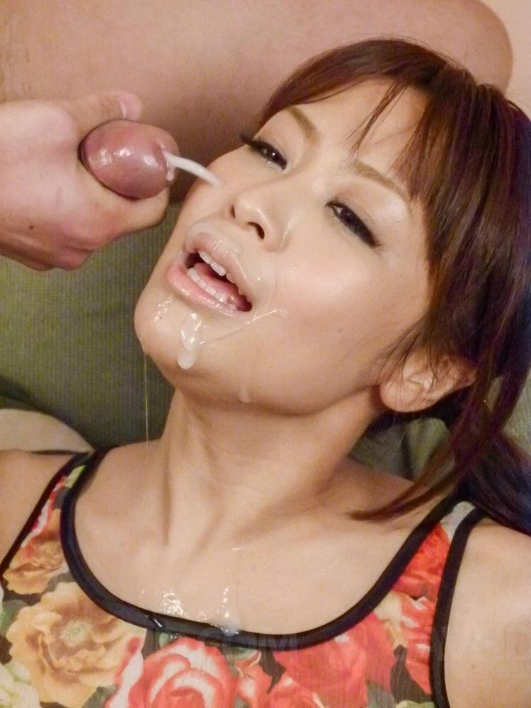Japanische Milf Fetter Cumshot