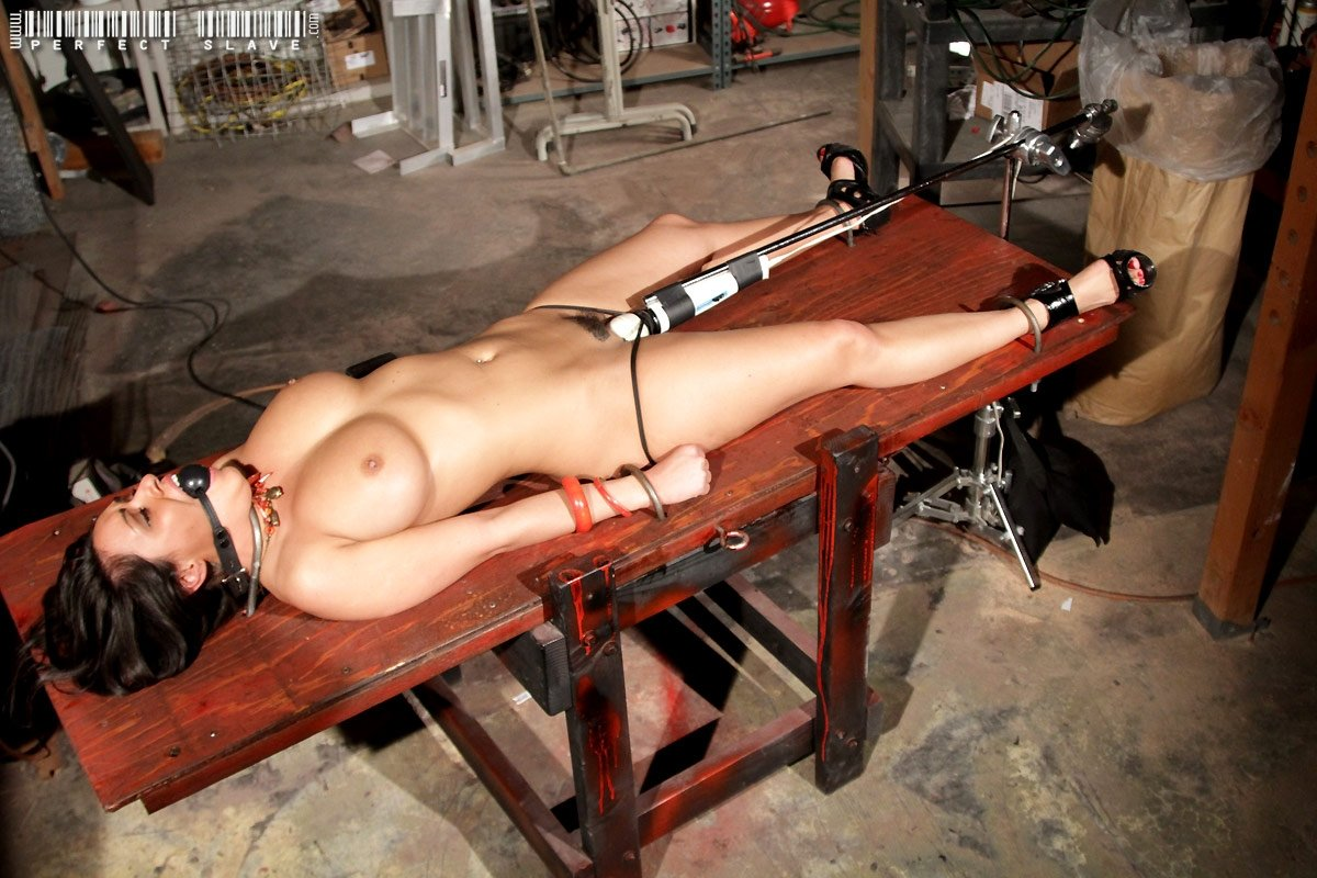 Hot Asian Girl Bound And Fucked With Fucking Machine Porn Photo