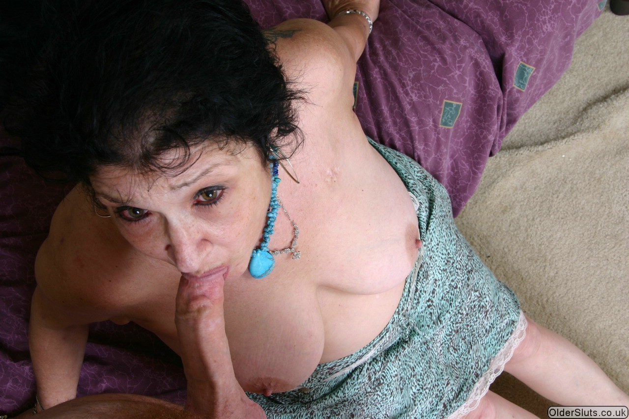 Live Sex Clip With Plump Granny Blue Iris Half Naked And On Her Knees While Sucking A Cock
