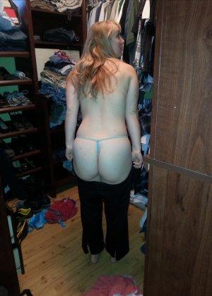 Красивые попки в нижнем белье - подборка 003