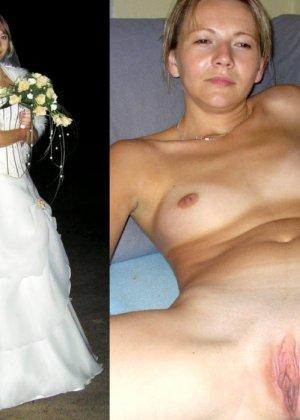 Засветы невест - подборка 004