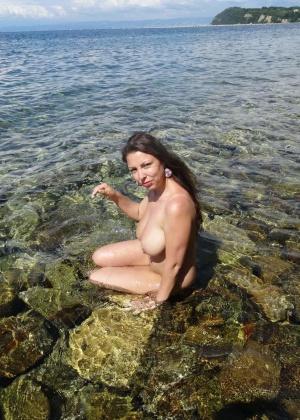 Голые на пляже - подборка 016