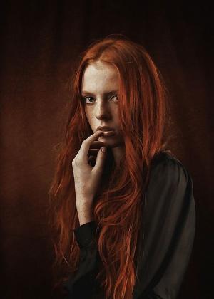 Подборка фотографий привлекательных рыжеволосых девушек с шикарными формами