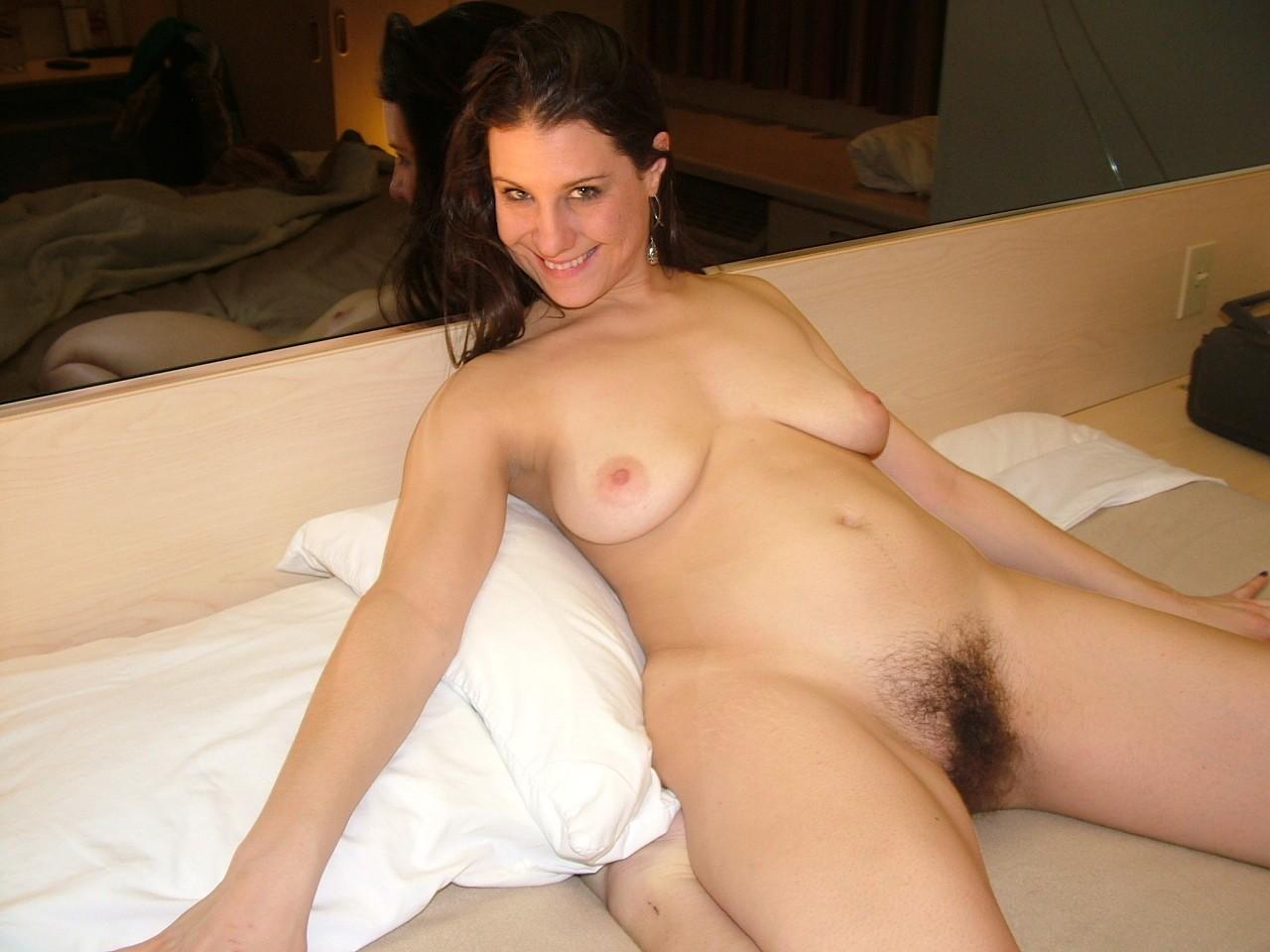 Naked hairy women nude bush