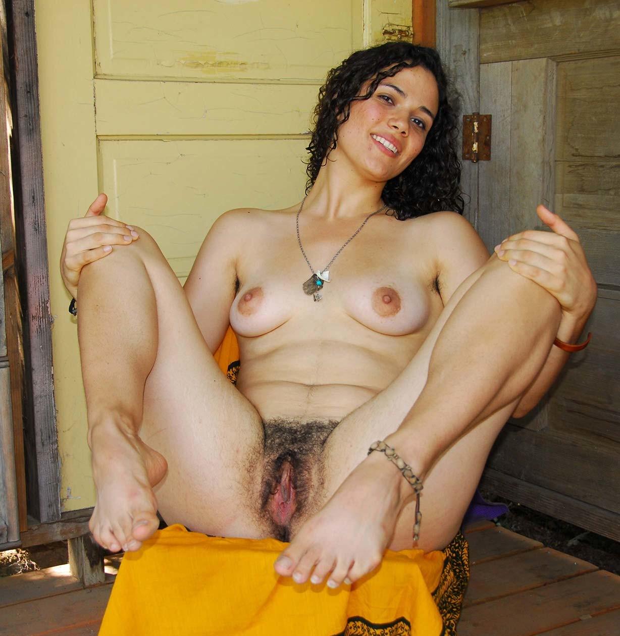 Beautiful very hairy women nude