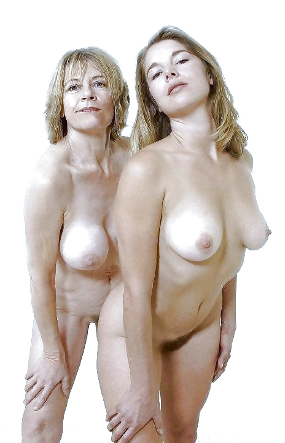 Real Mothers And Daughters Posing Naked