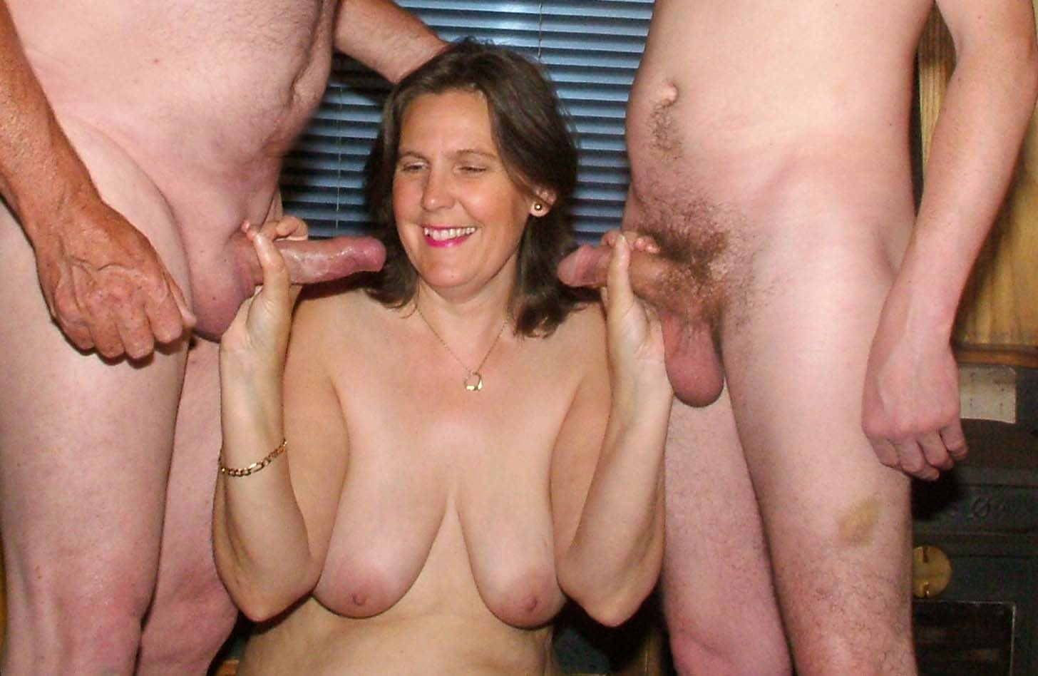 James wife likes two cocks