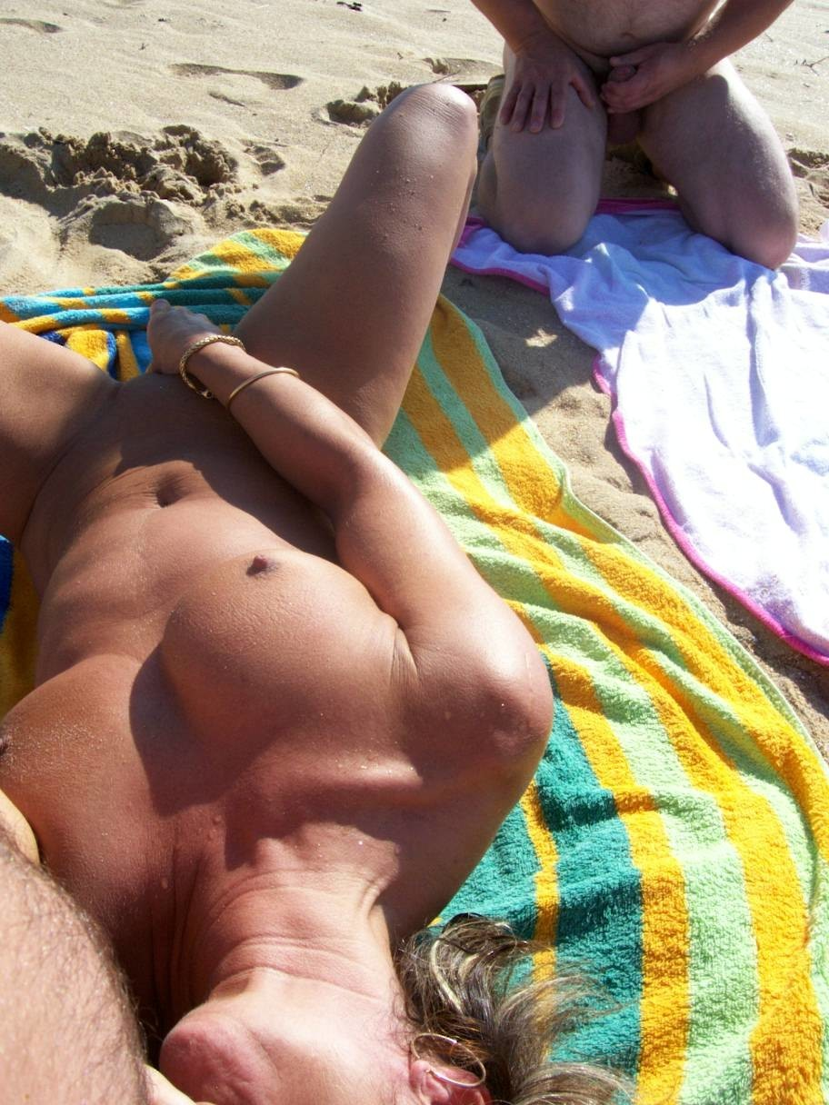 Naked beach masterbation
