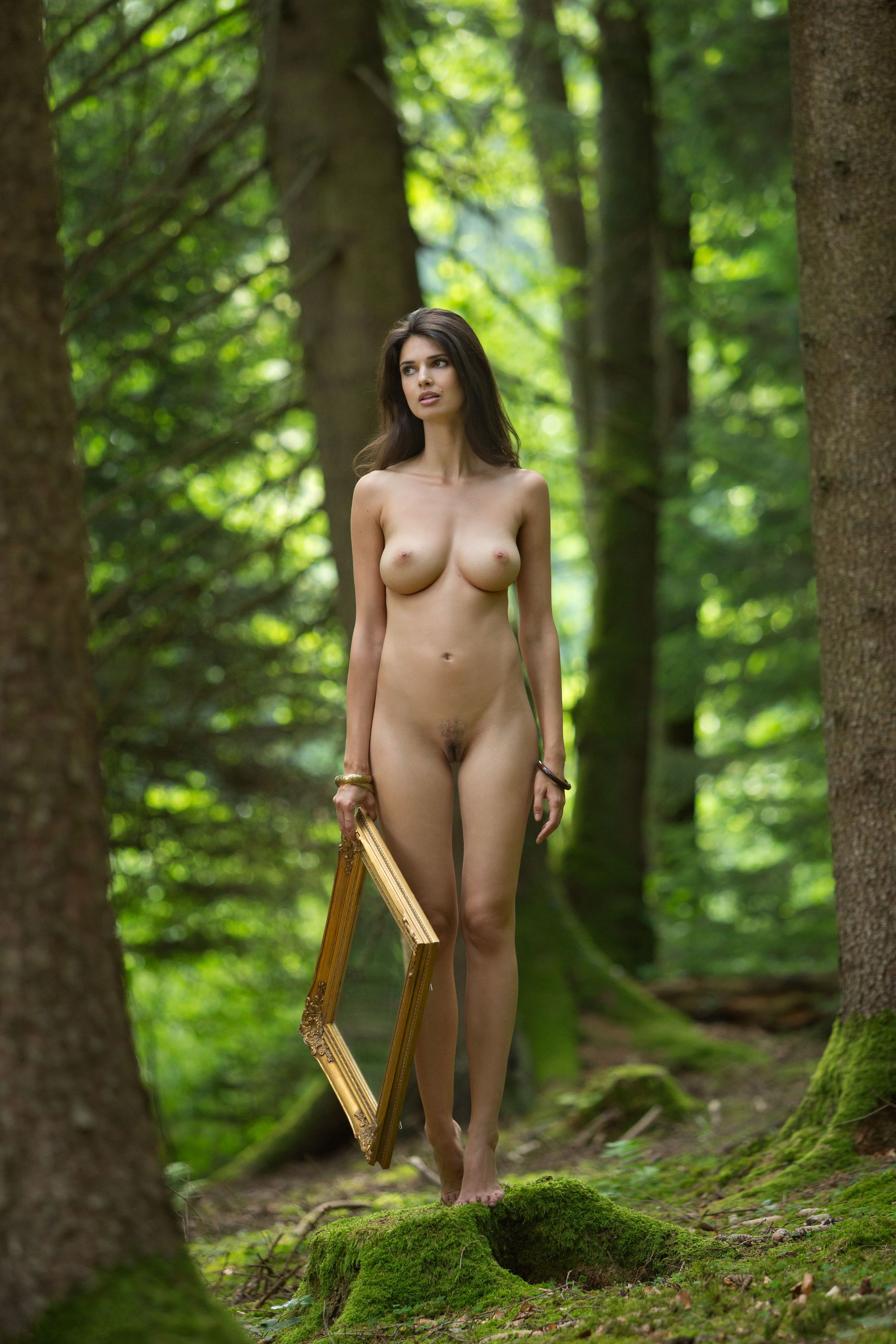 Delhi Local Girls Nude Photography Inside Forest