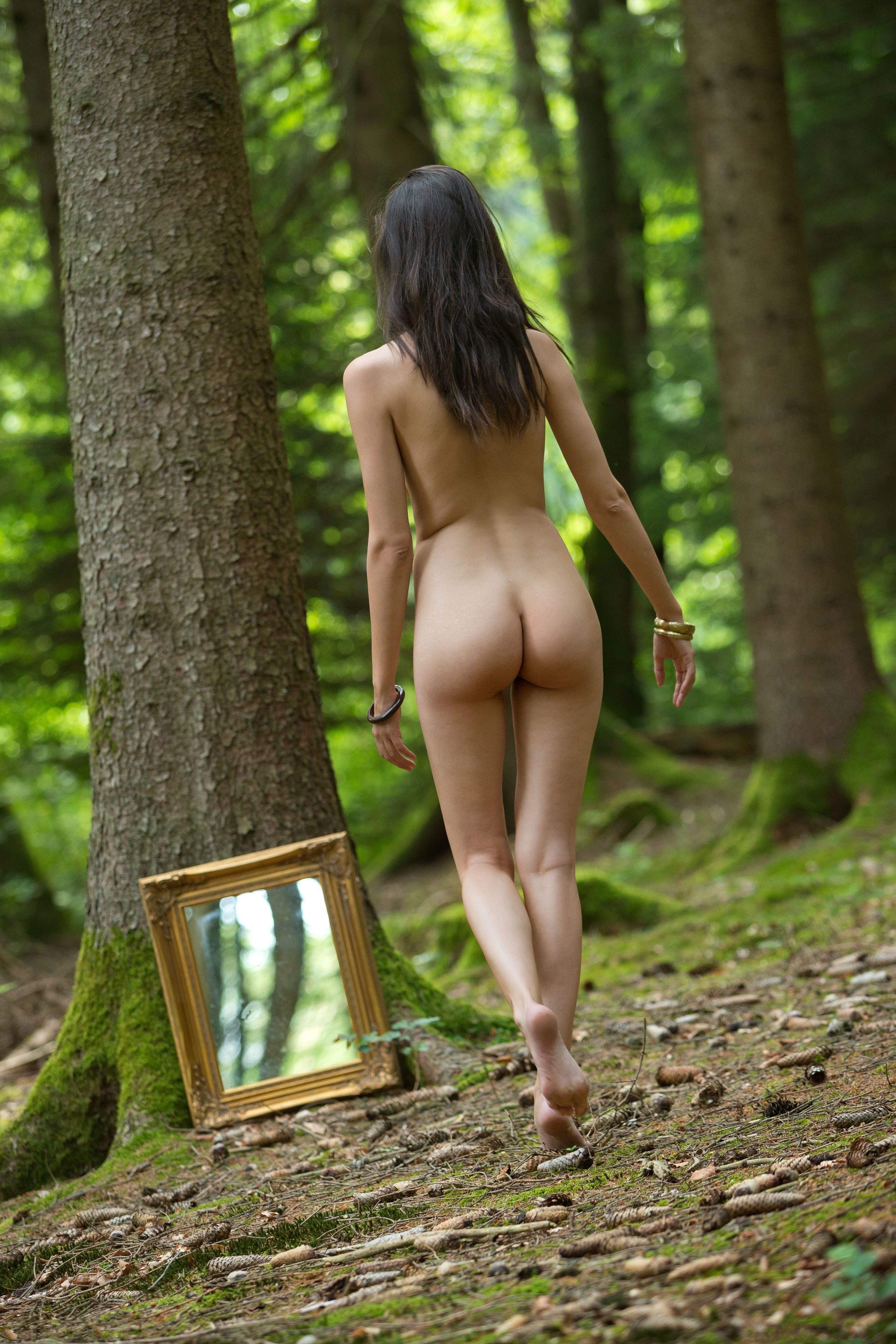 Naked in forest sex pics