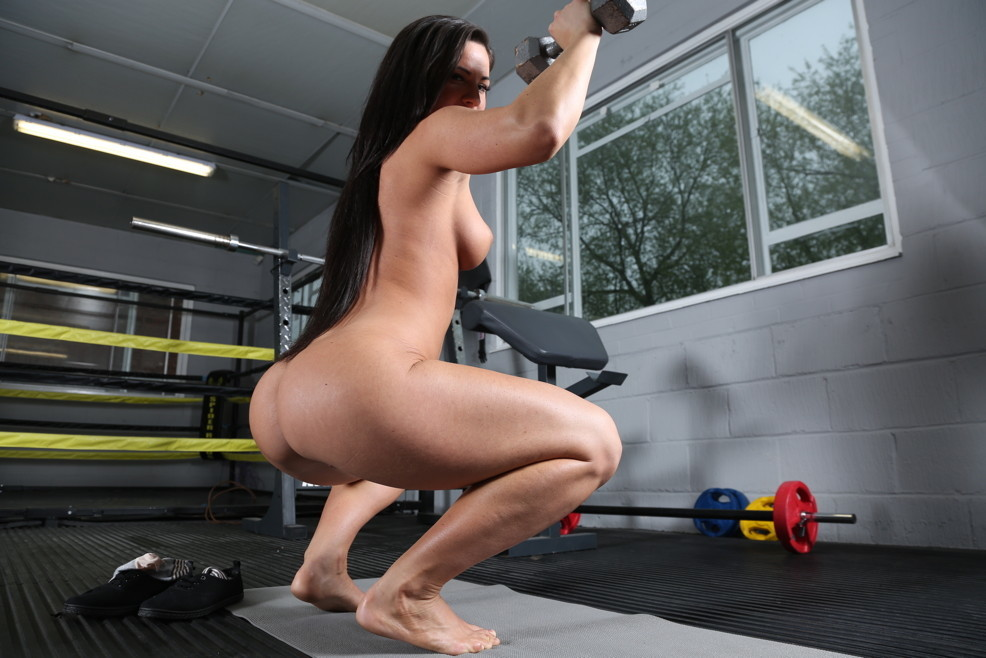 Japanese nude gym pics