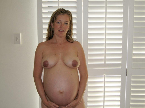 Sexy Young Pregnant Woman