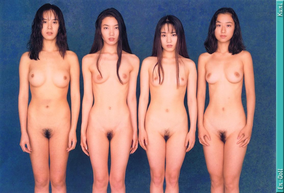 Japan doll naked