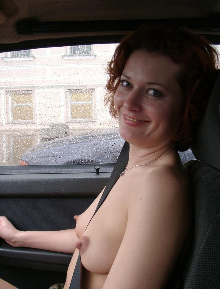 Boobs in cars