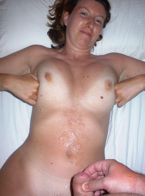 Сперма на обычных телках - подборка 022
