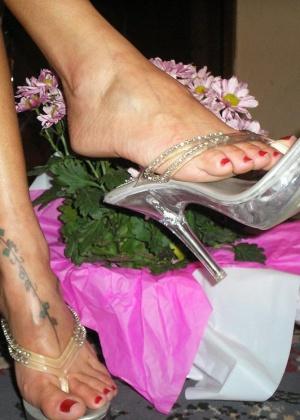 Ножки на высоких каблуках