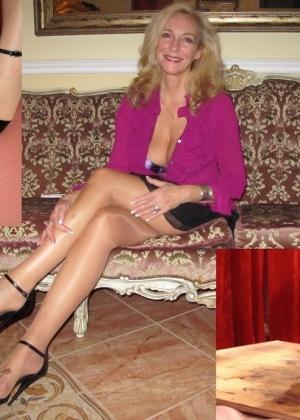 Девушки и женщины со спермой на ногах