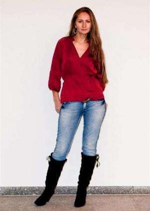 Модель Елена в нижнем белье
