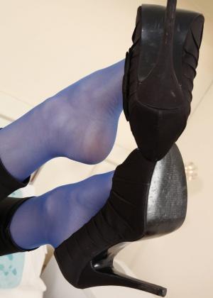 Сандра в синих чулках