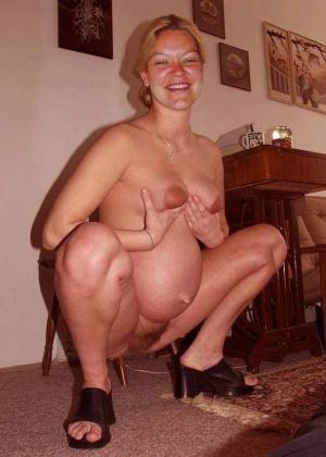 Эротика с беременными женами - подборка 005