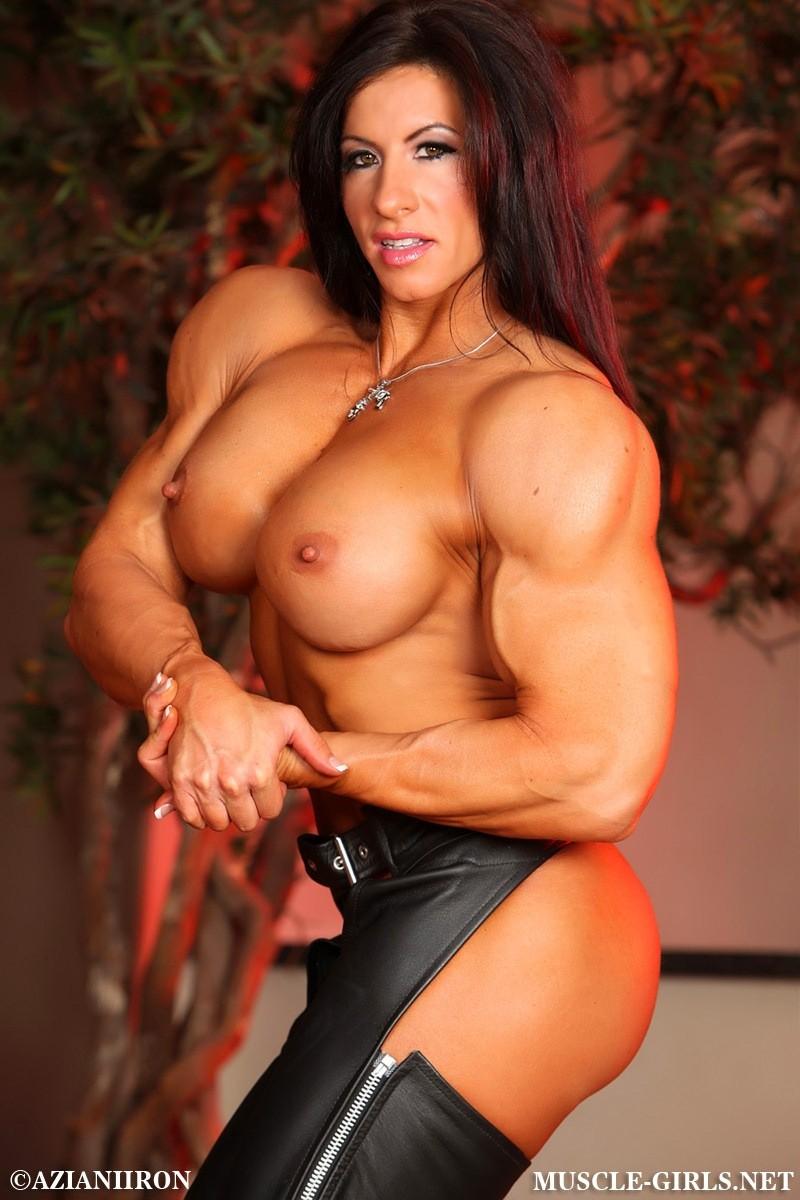 Nude amazon female bodybuilders angela salvagno